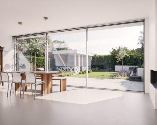 cero sliding metallic patio doors