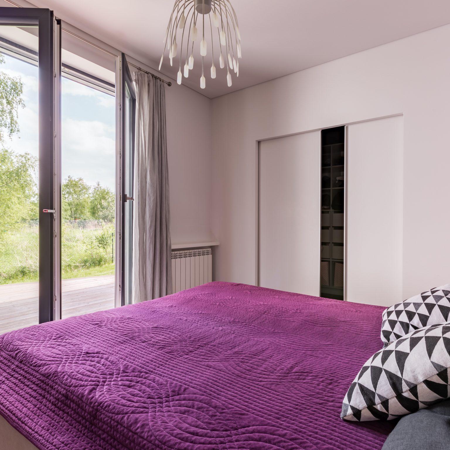 residential doors in a bedroom