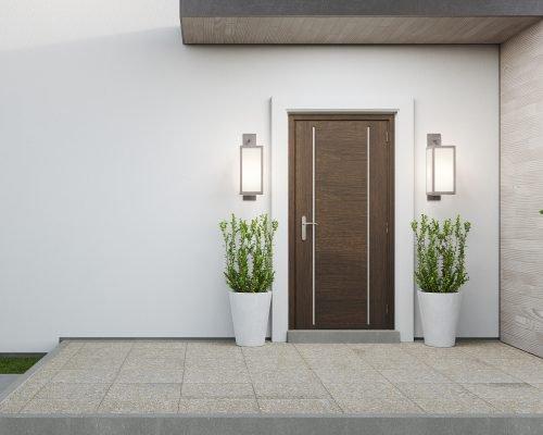 bespoke timber front door