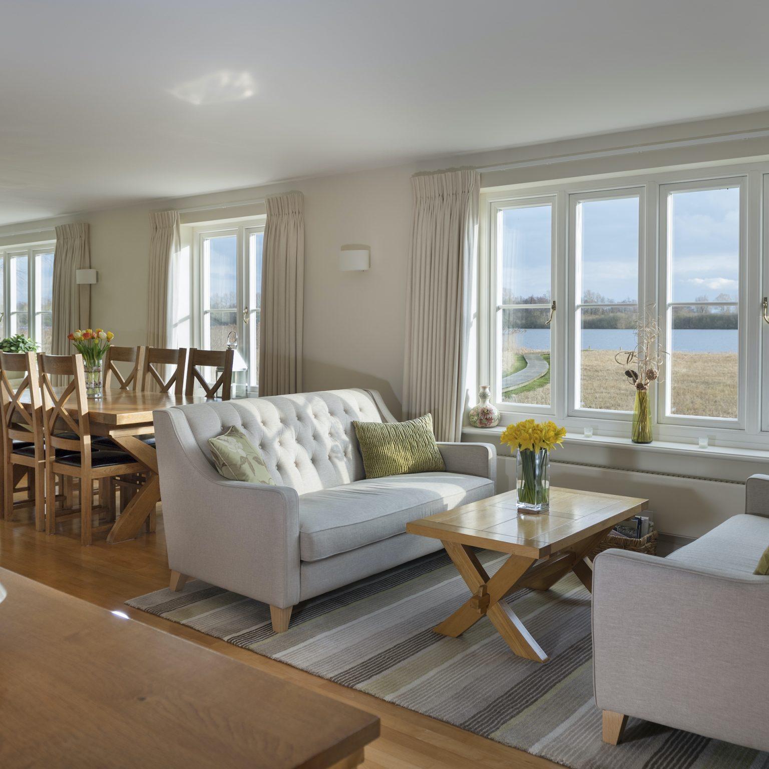 Residence 9 timber-look windows