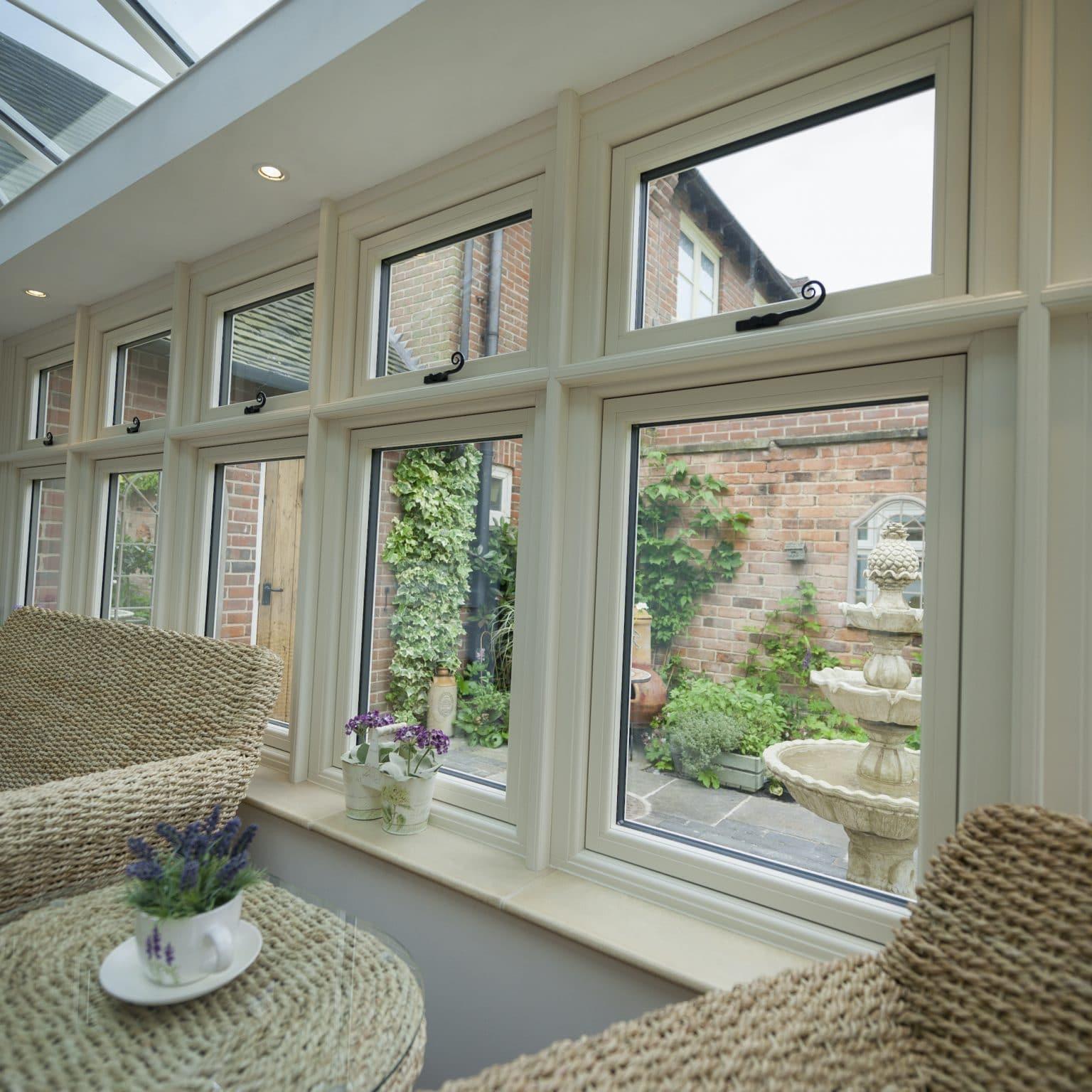 residence 9 windows in cream colour