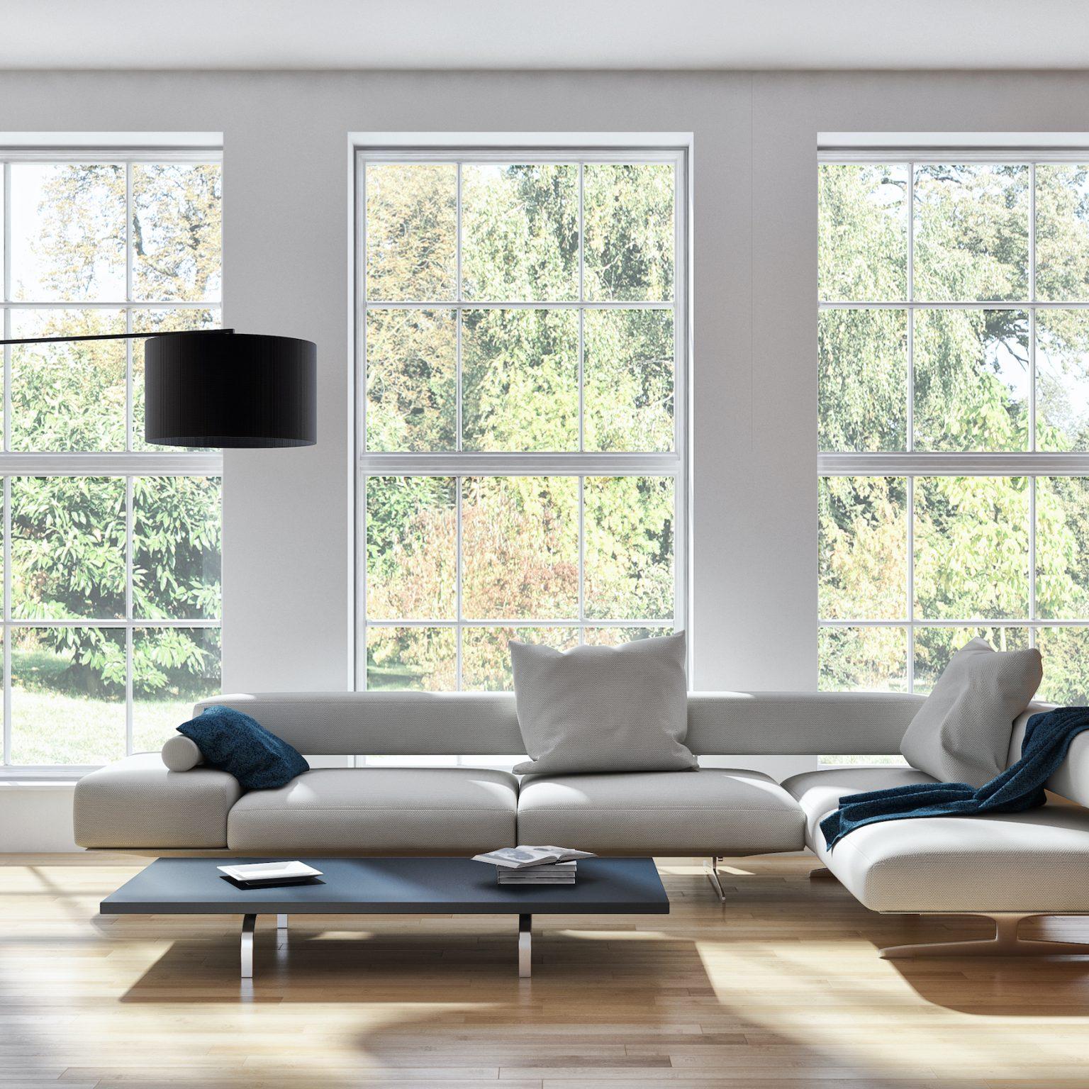 white aïr Heritage Steel Replacement Windows