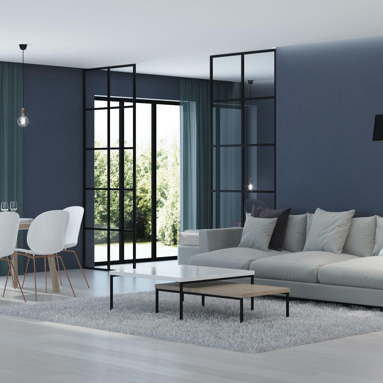 Steel-look interior Screens & Doors