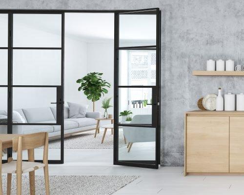 internal Steel Replacement Doors & Windows