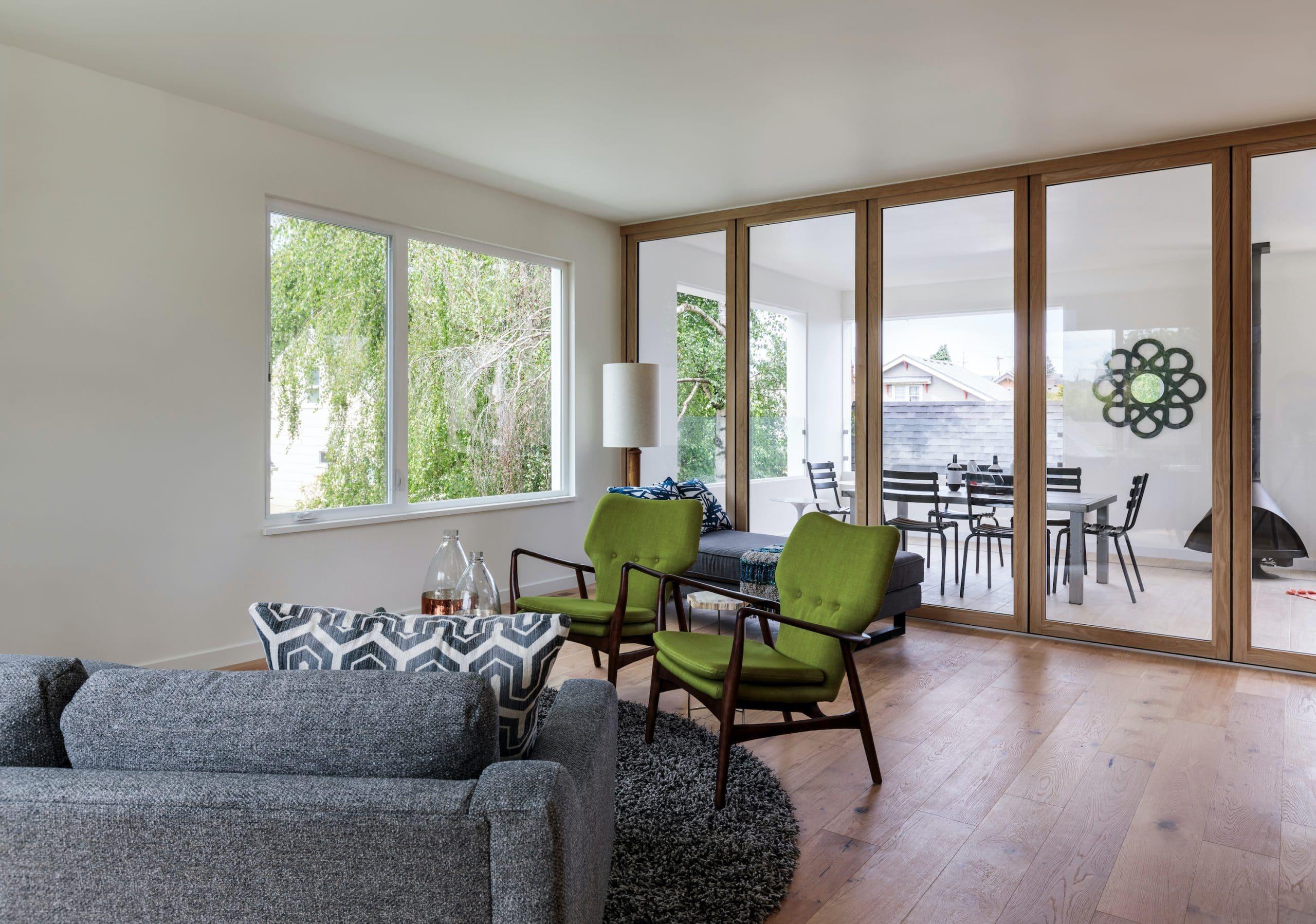 Dutemann doors and windows in a modern new house