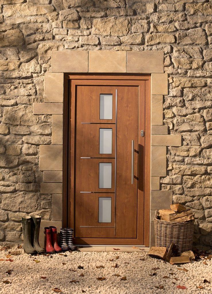 origin front door woodgrain
