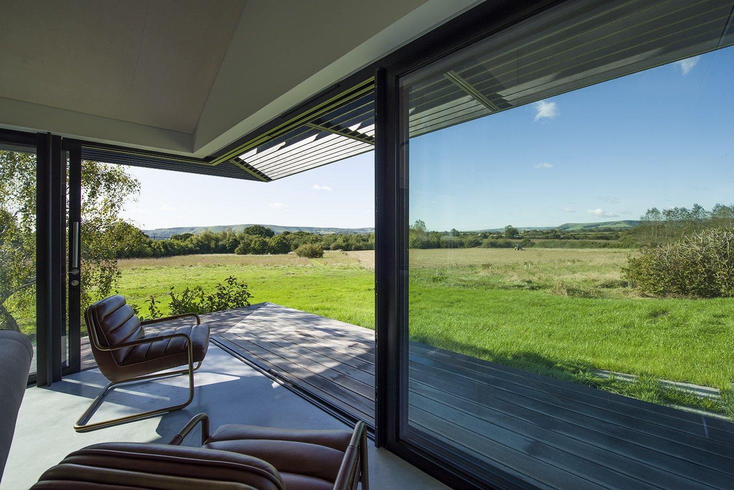 Sunflex SVG20 Sliding Door in country home