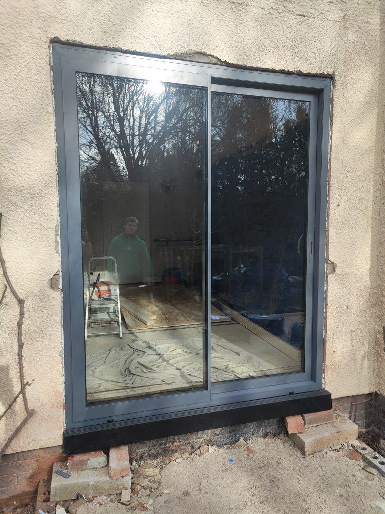 Sunflex sliding doors in Burton Joyce