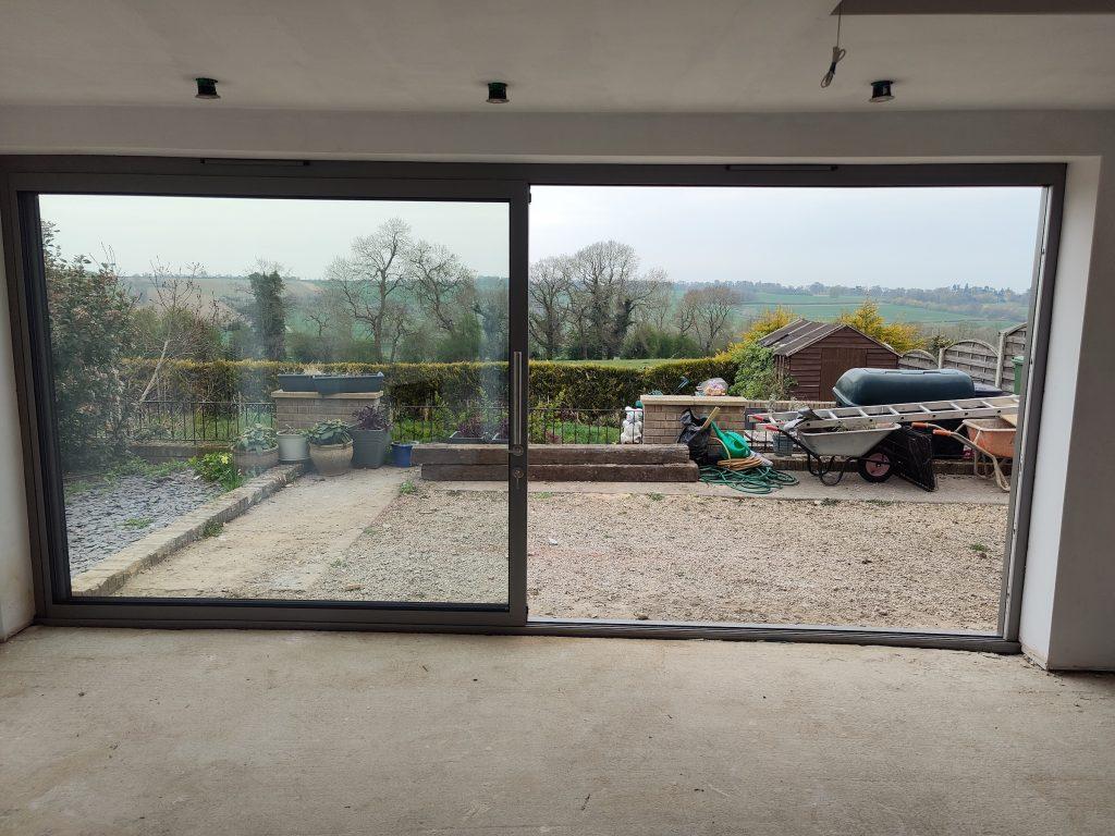 Slimline sliding doors in Rutland