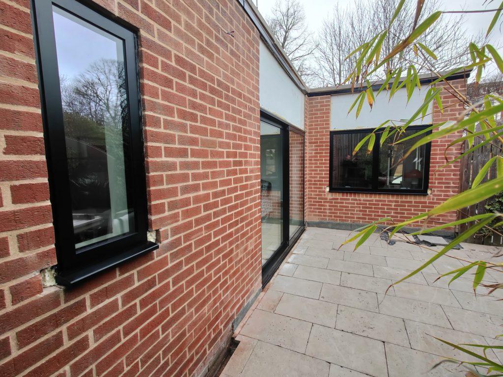sunflex sliding doors in a modern home