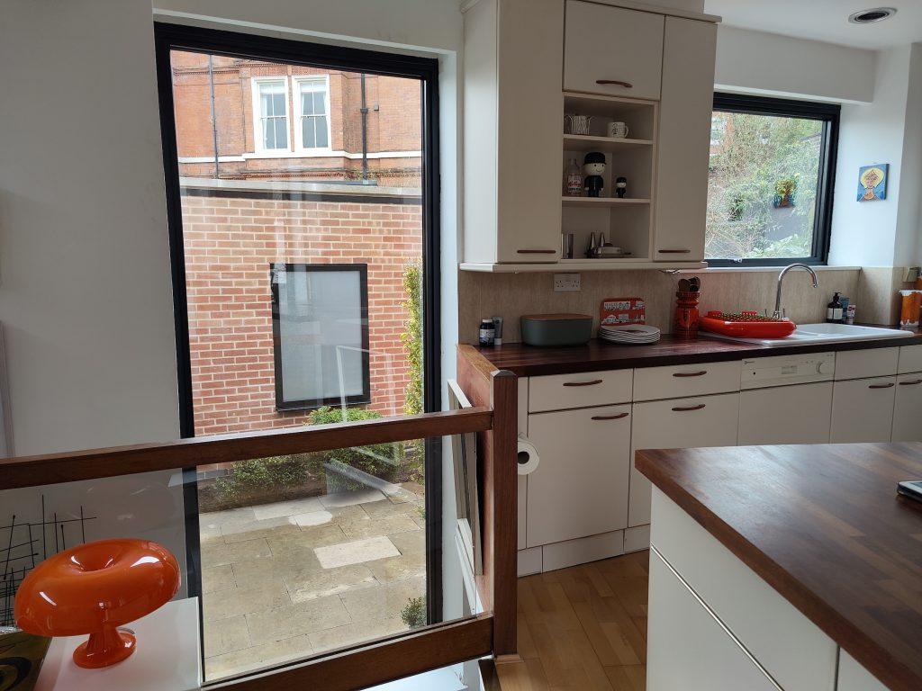 Schuco aluminium windows in Nottingham